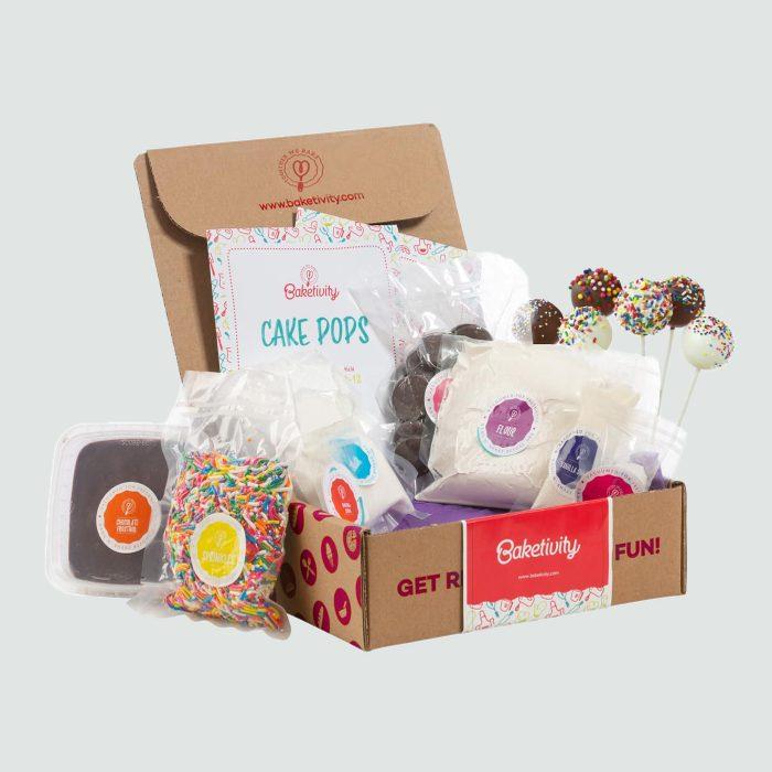 cake pops baked goods giftbox quarantine