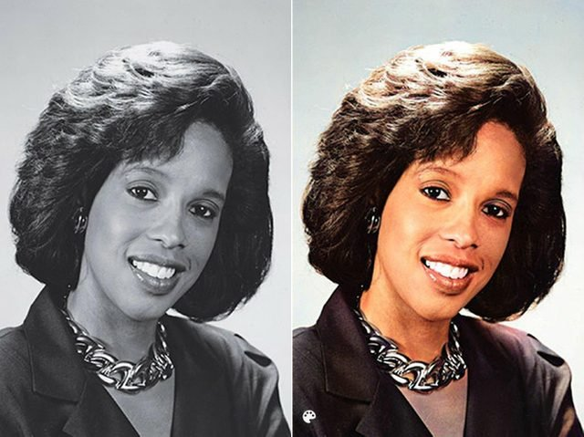 colorized gayle king