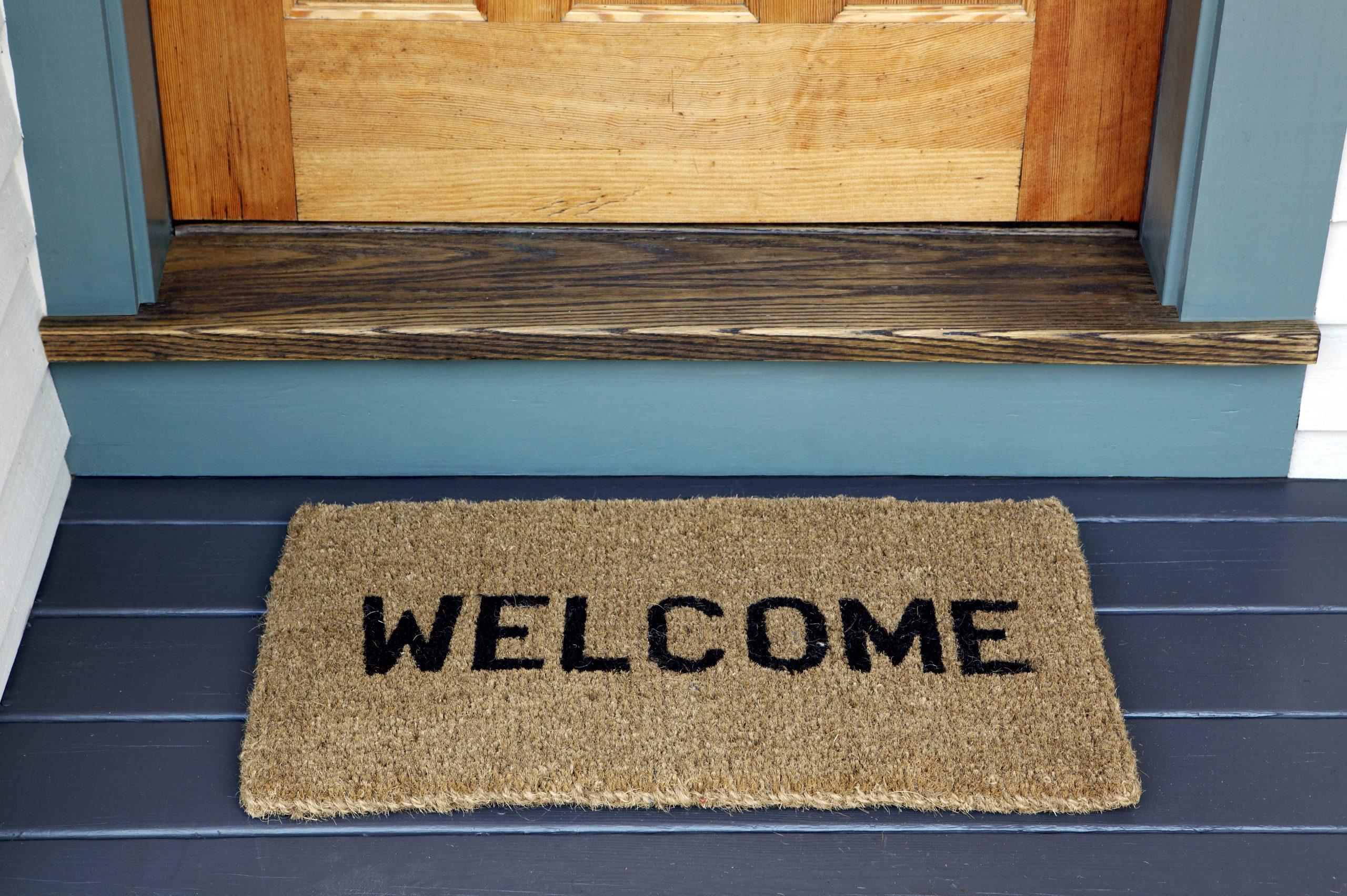 Welcome on Door Mat