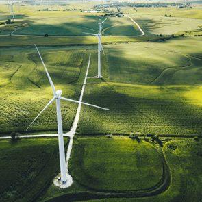 wind turbine in iowa