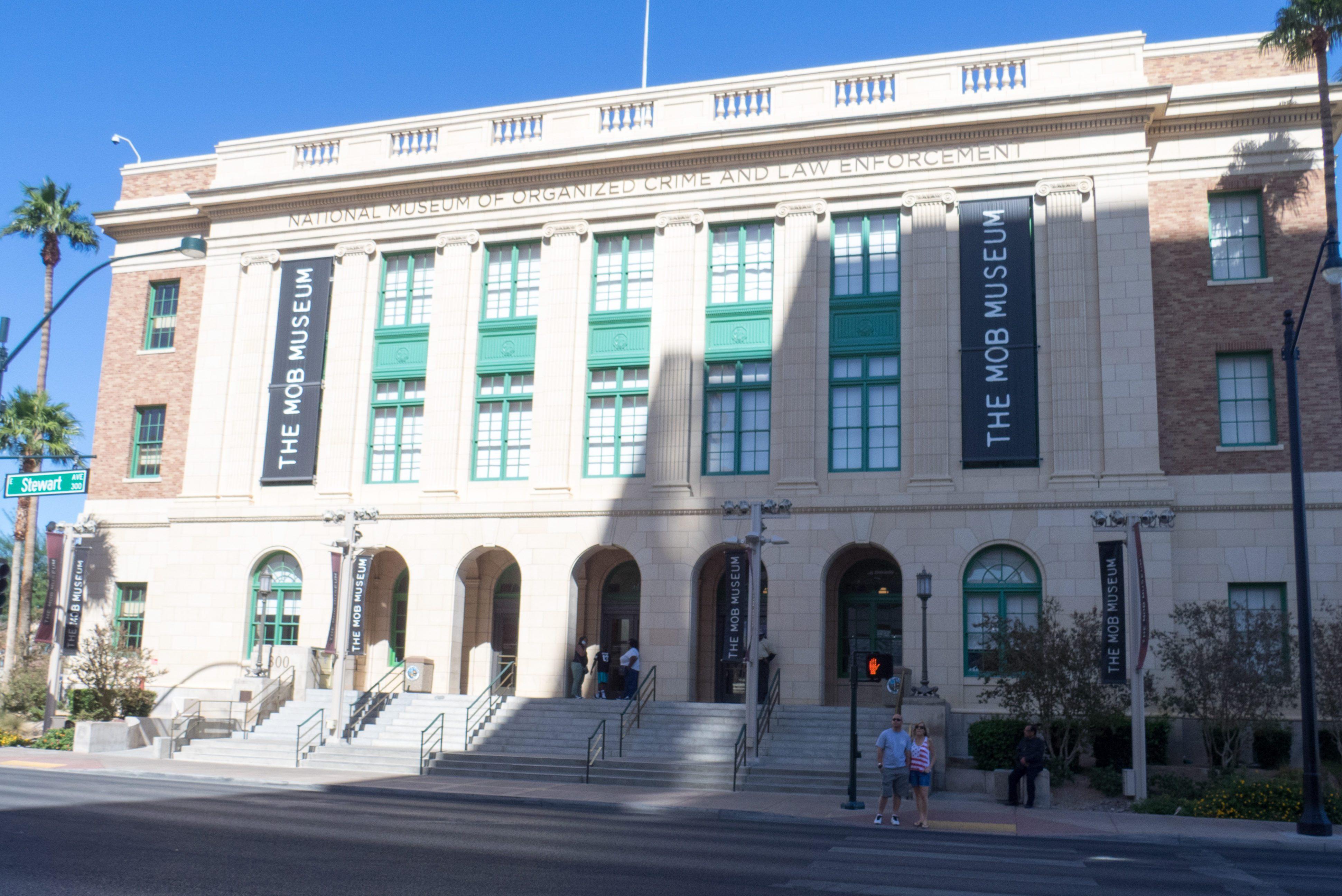 Mob Museum building Las Vegas