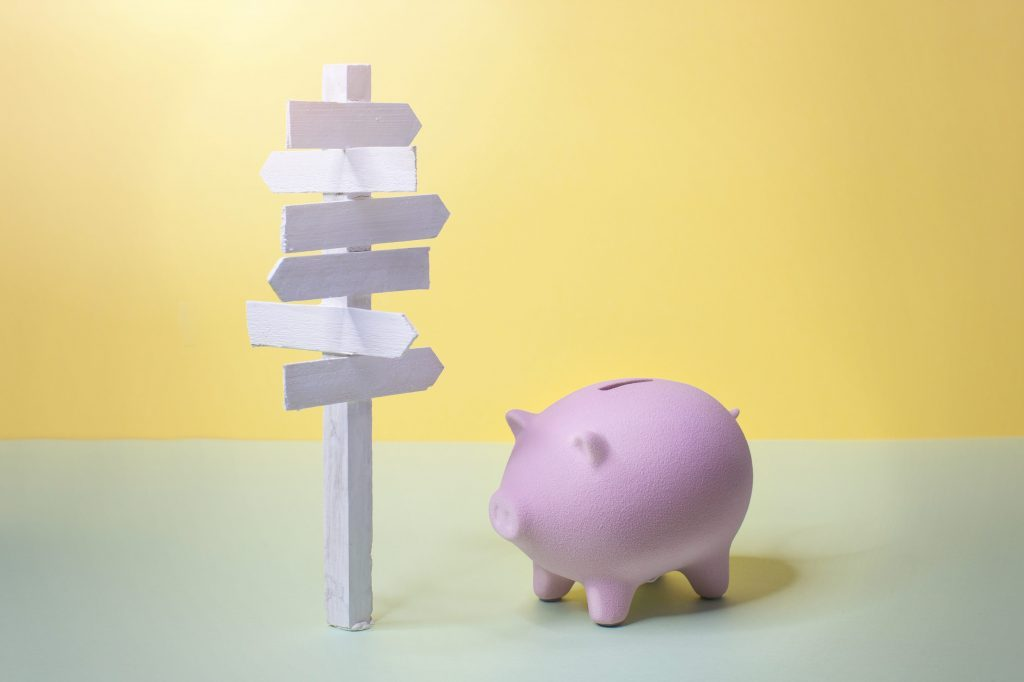 Personal financial planning concept image.