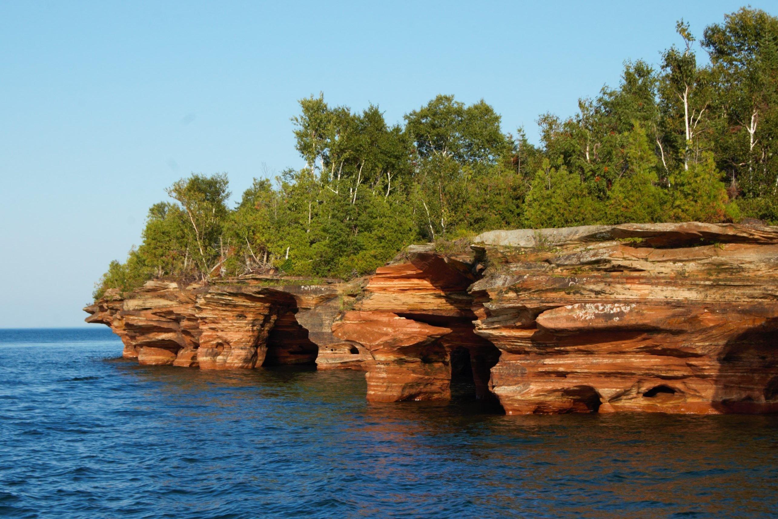 Apostle Islands Sea Caves 3