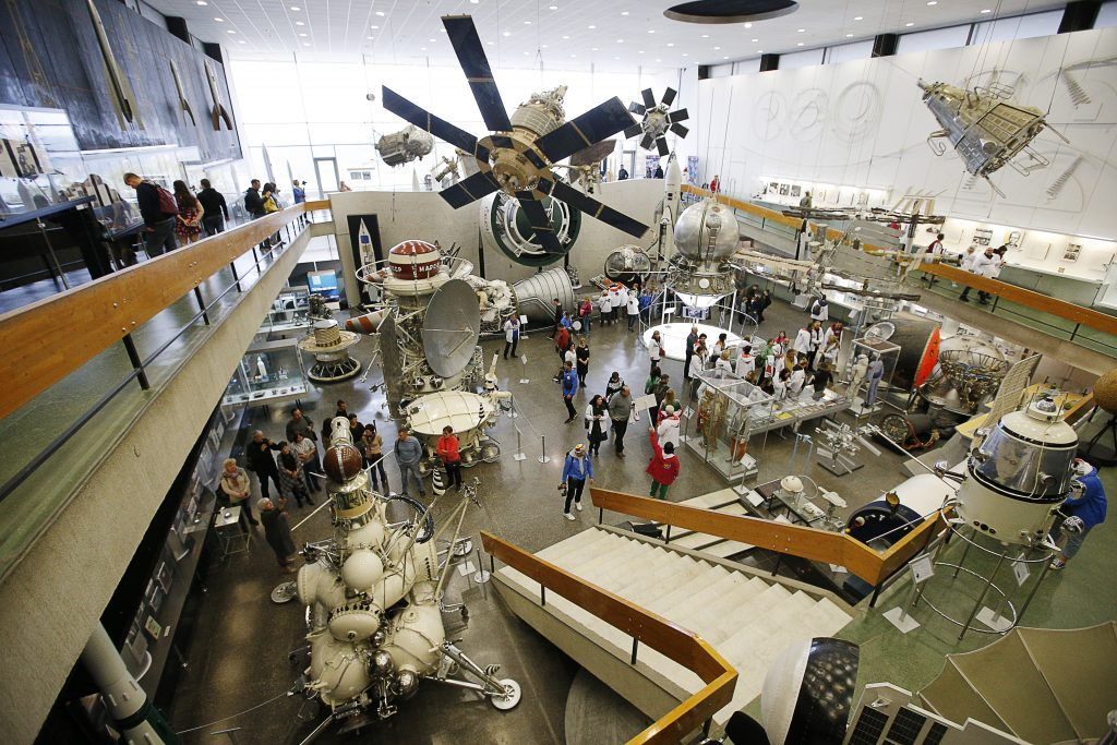 Tsiolkovsky State Museum of the History of Cosmonautics in Kaluga, Russia