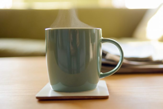 Nice Hot Cup of Tea or Coffee at Home