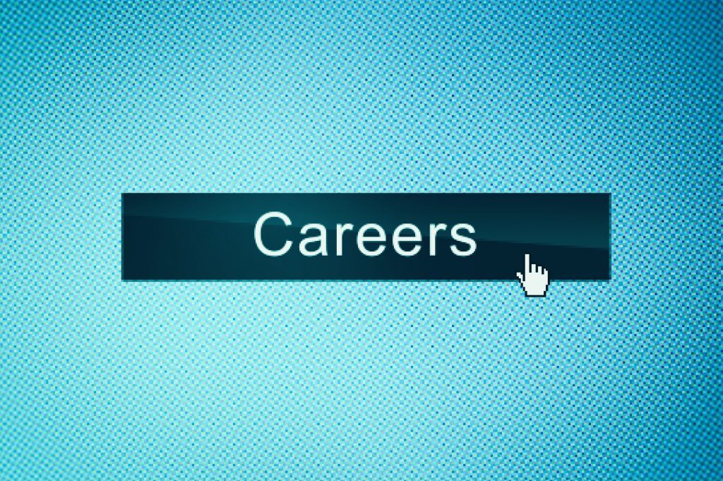 Careers button on webpage