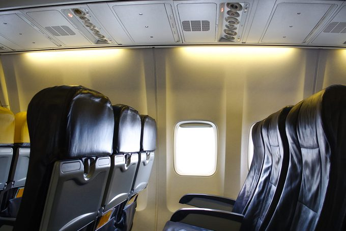 Economy Class seats for passengers on commercial aircraft.