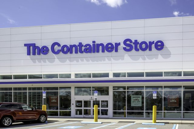 One of Container Store in Tampa, Florida, USA.