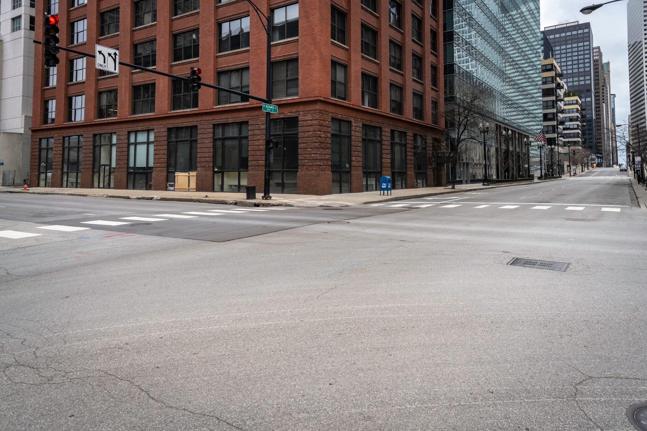 Deserted Chicago