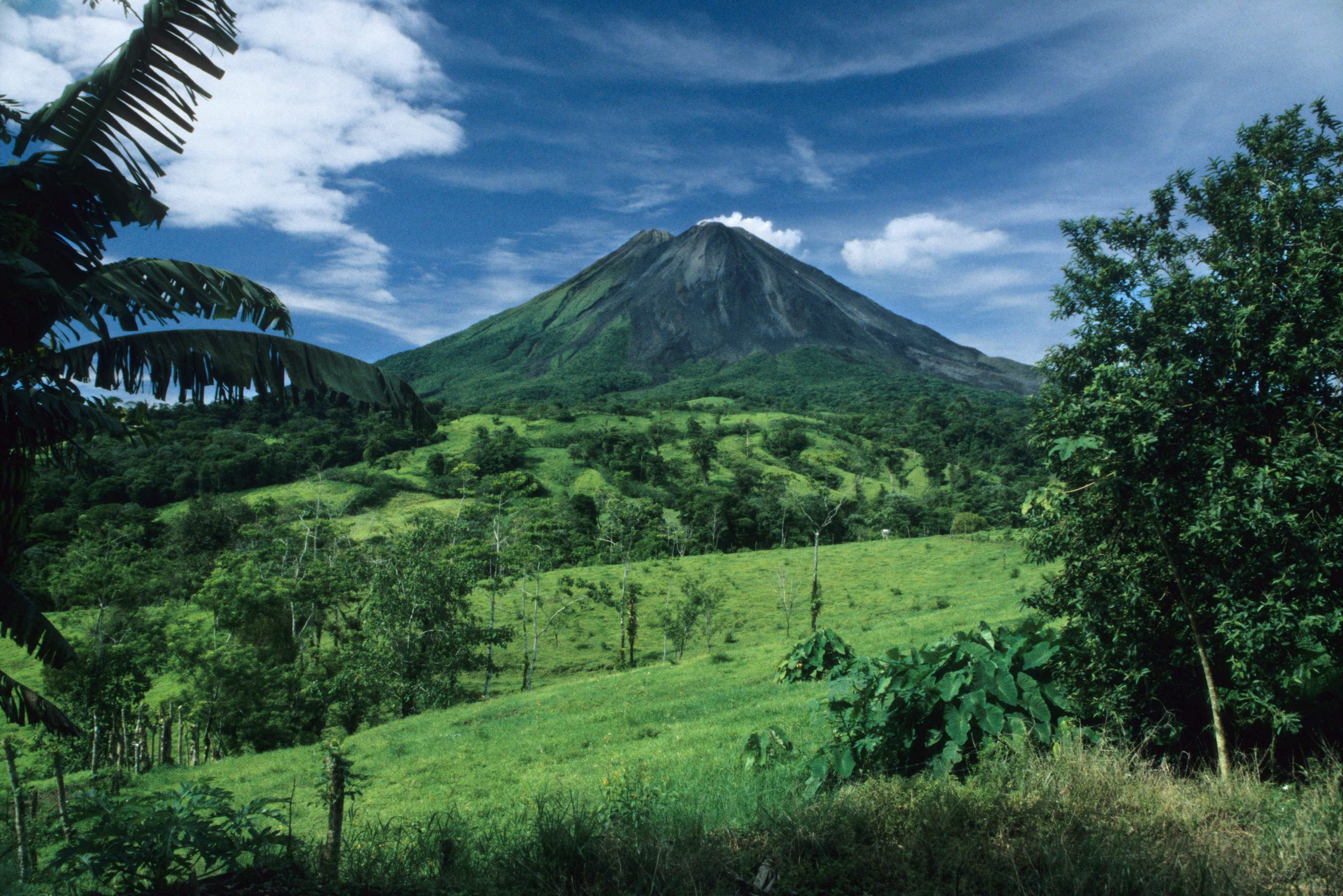Sunny Day and Arenal Volcano, Costa Rica