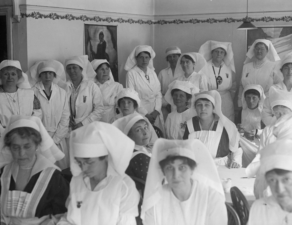 What Nursing Looked Like 100 Years Ago