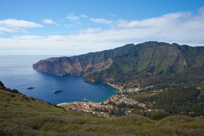 A beautiful view of Robinson Crusoe Island