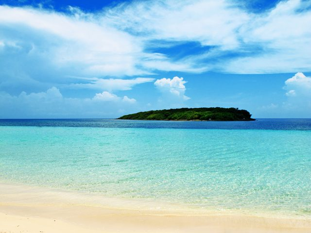 Blue Beach Vieques Puerto Rico