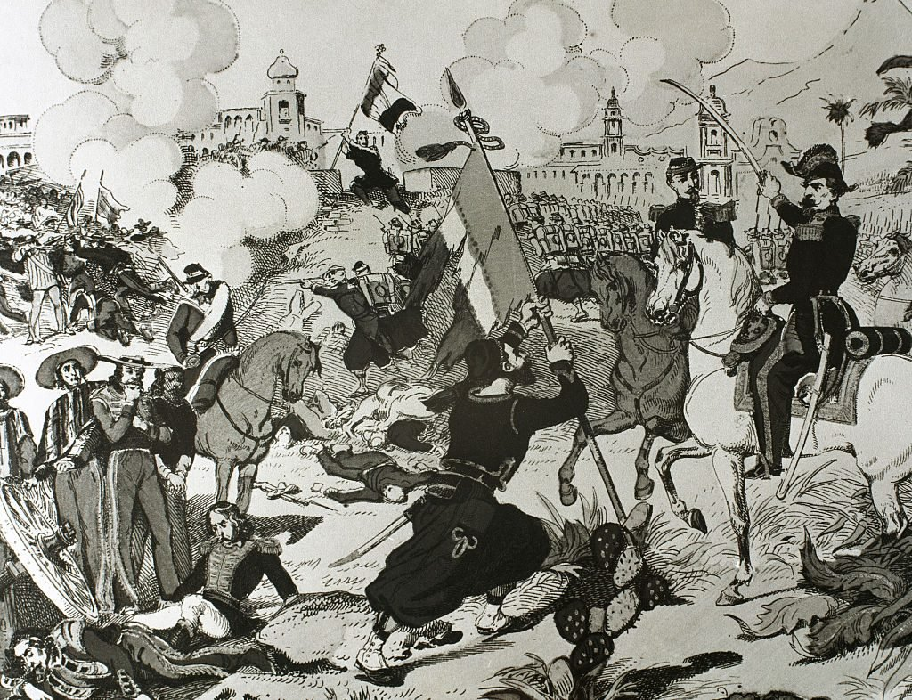 Siege of Puebla.