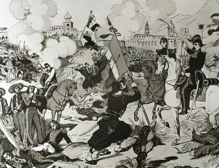 Siege of Puebla.