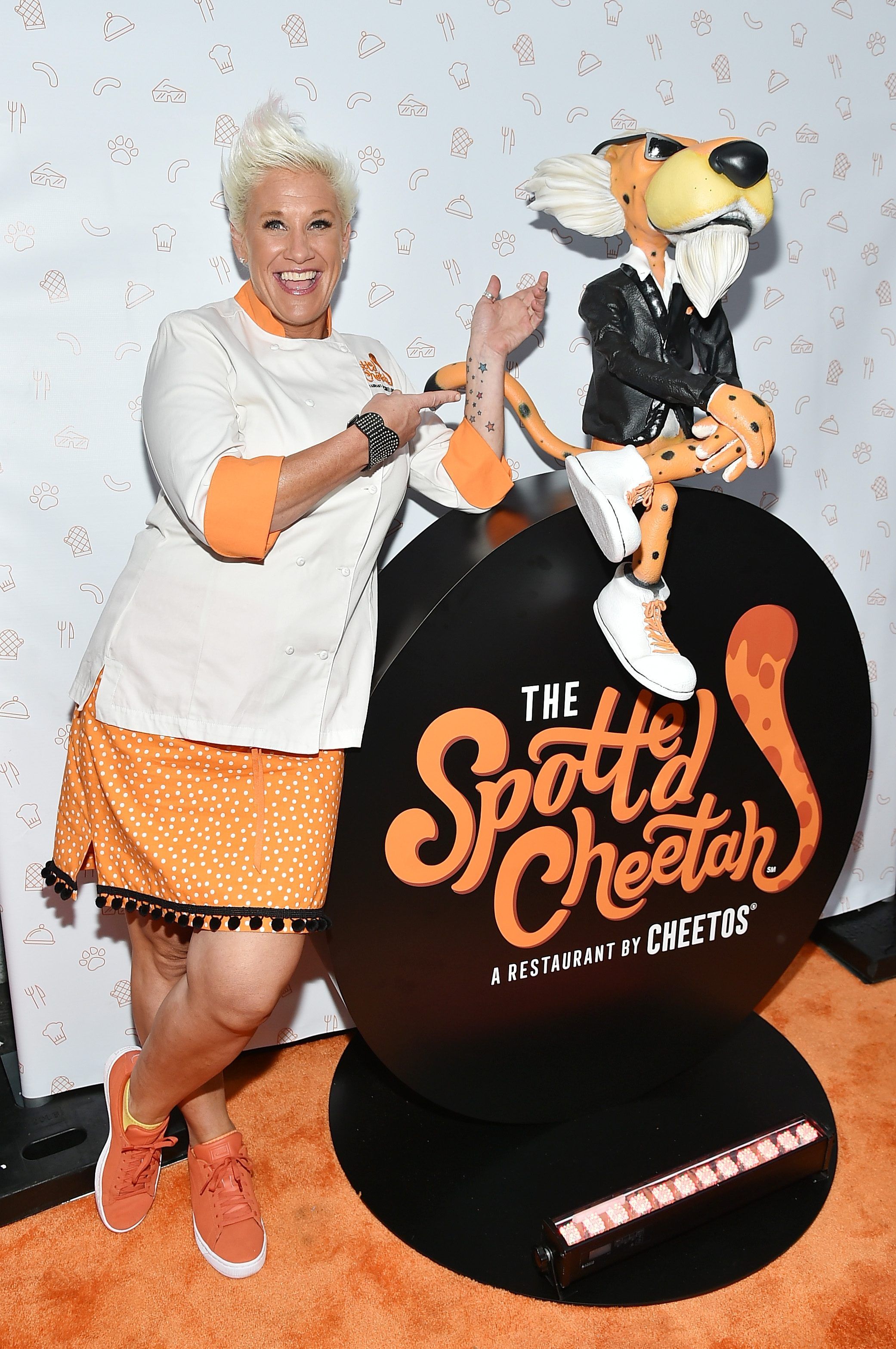 Cheetos Brand And Chester Cheetah Open The First-Ever Cheetos Restaurant, The Spotted Cheetah