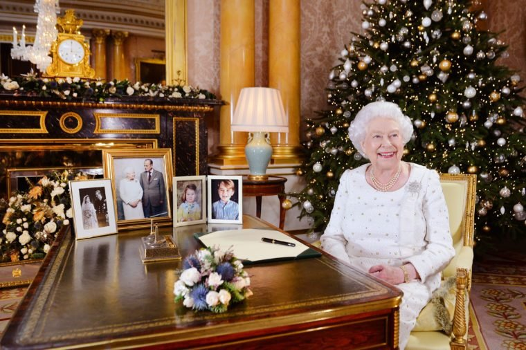 Queen Elizabeth II Records Christmas Broadcast