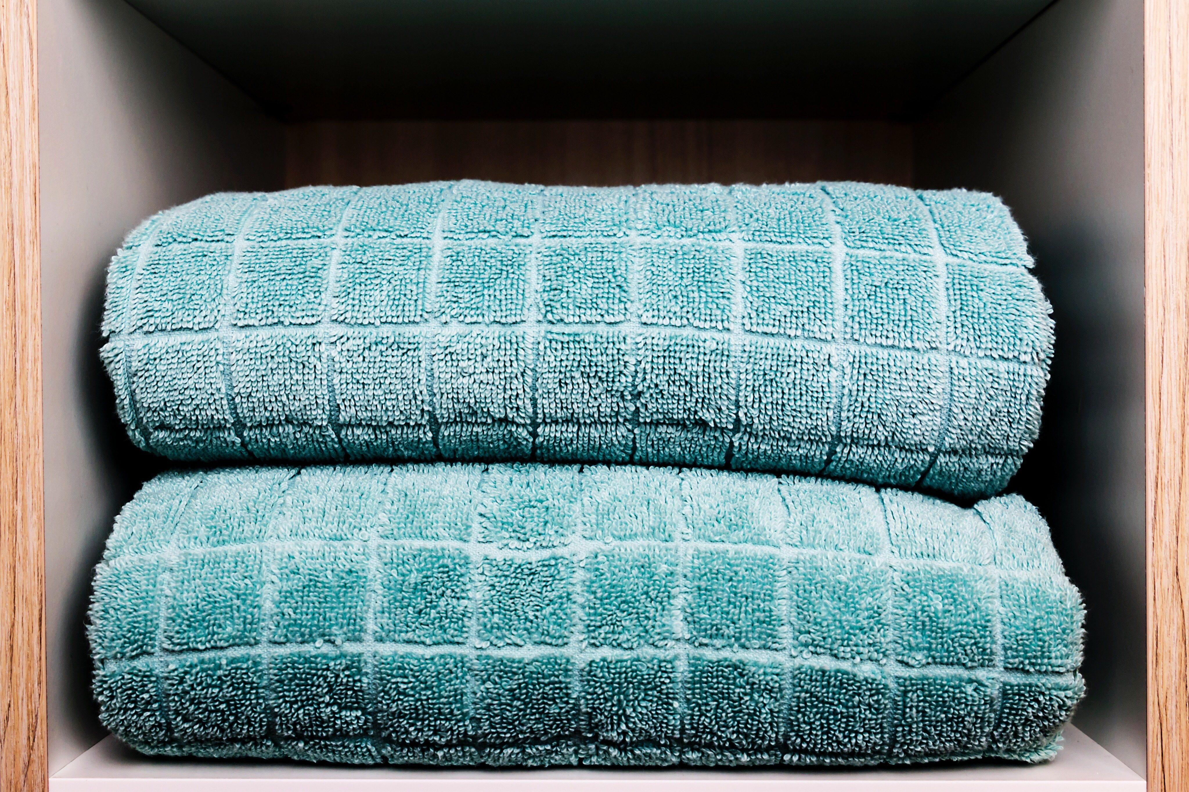Towels In Shelf