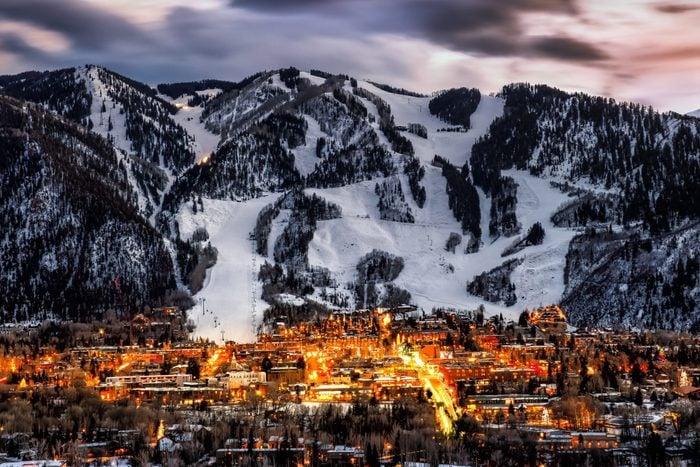 Aspen Colorado skyline
