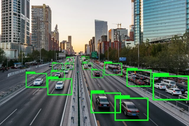 Automatic Drive Technology Concept