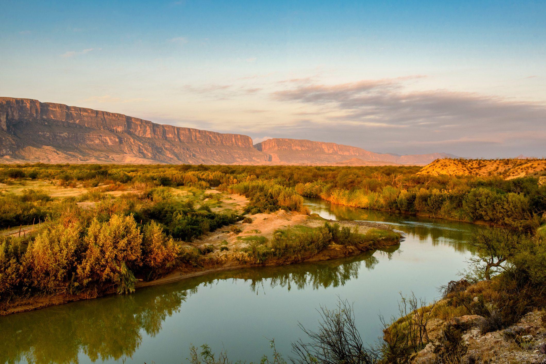 Early Morning Along the Rio Grande