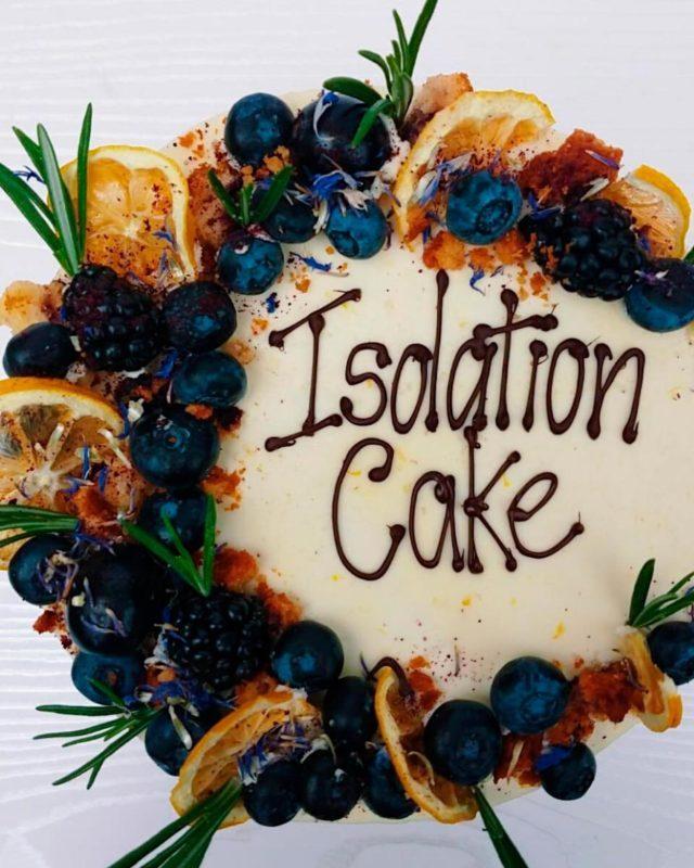 isolation cake from luminary bakery