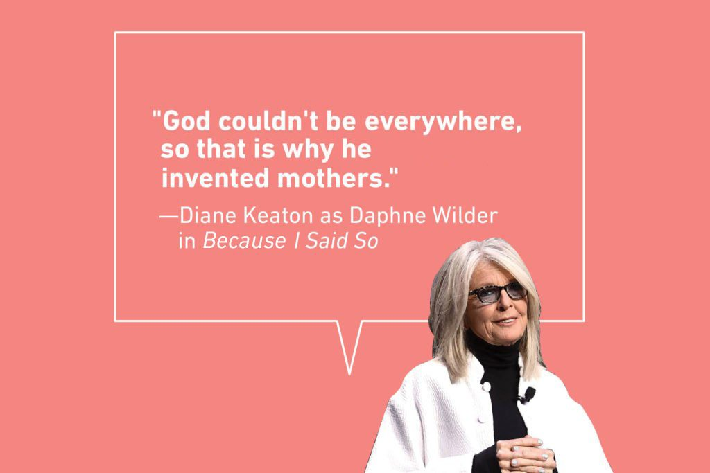 diane keaton mother daughter quote