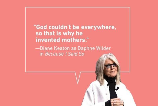 diane keaton mother daughter quote