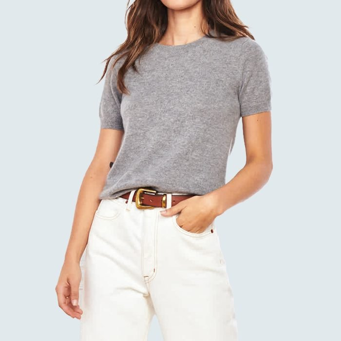 Quince Mongolian Cashmere Tee
