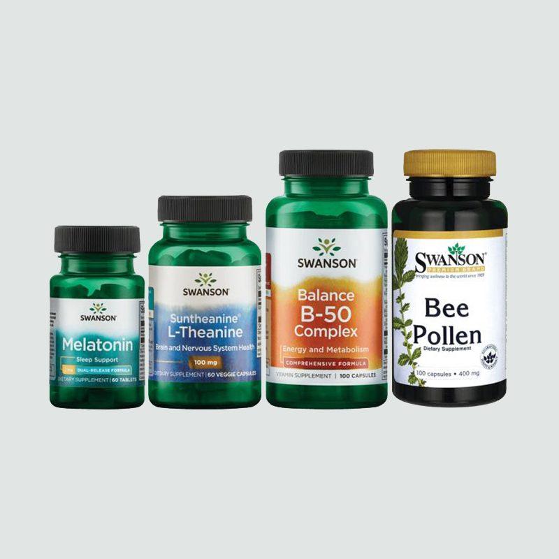 Swanson Morning, Noon & Night Bundle health products vitamins