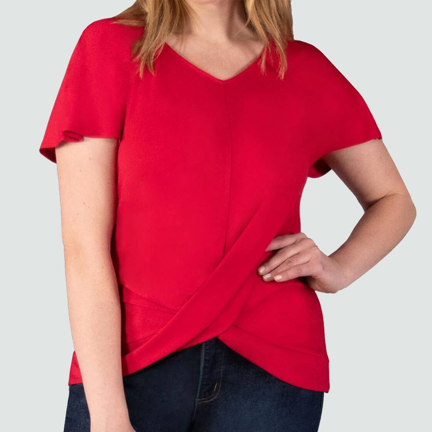 shirt blouse work from home video conference