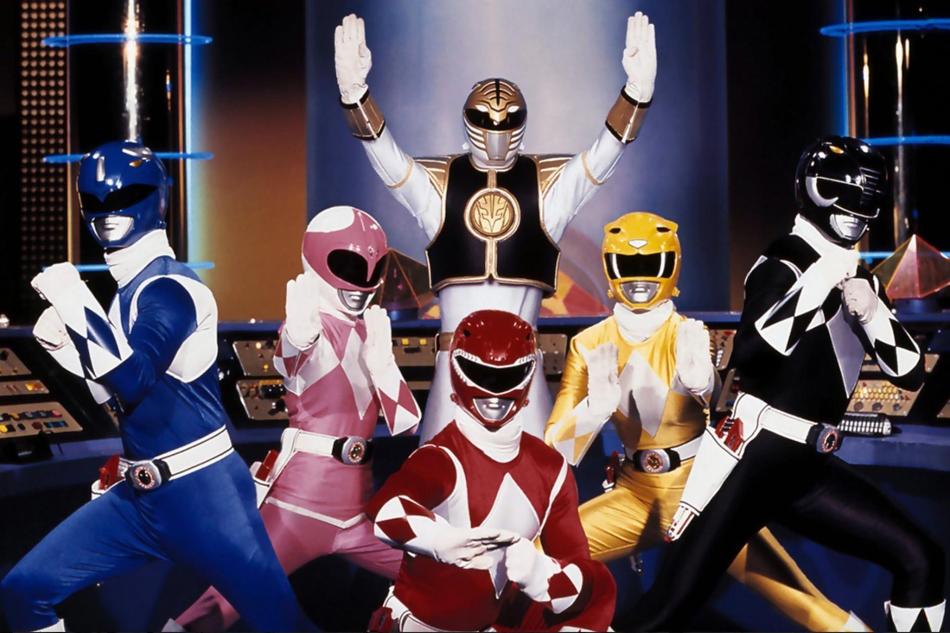 Mighty Morphin Power Rangers (4 seasons)