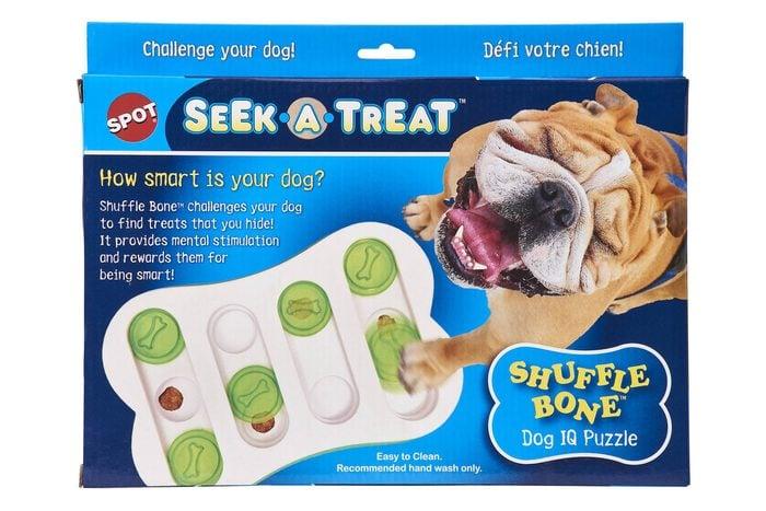 Spot Seek A Treat Shuffle Bone Dog Puzzle Toy