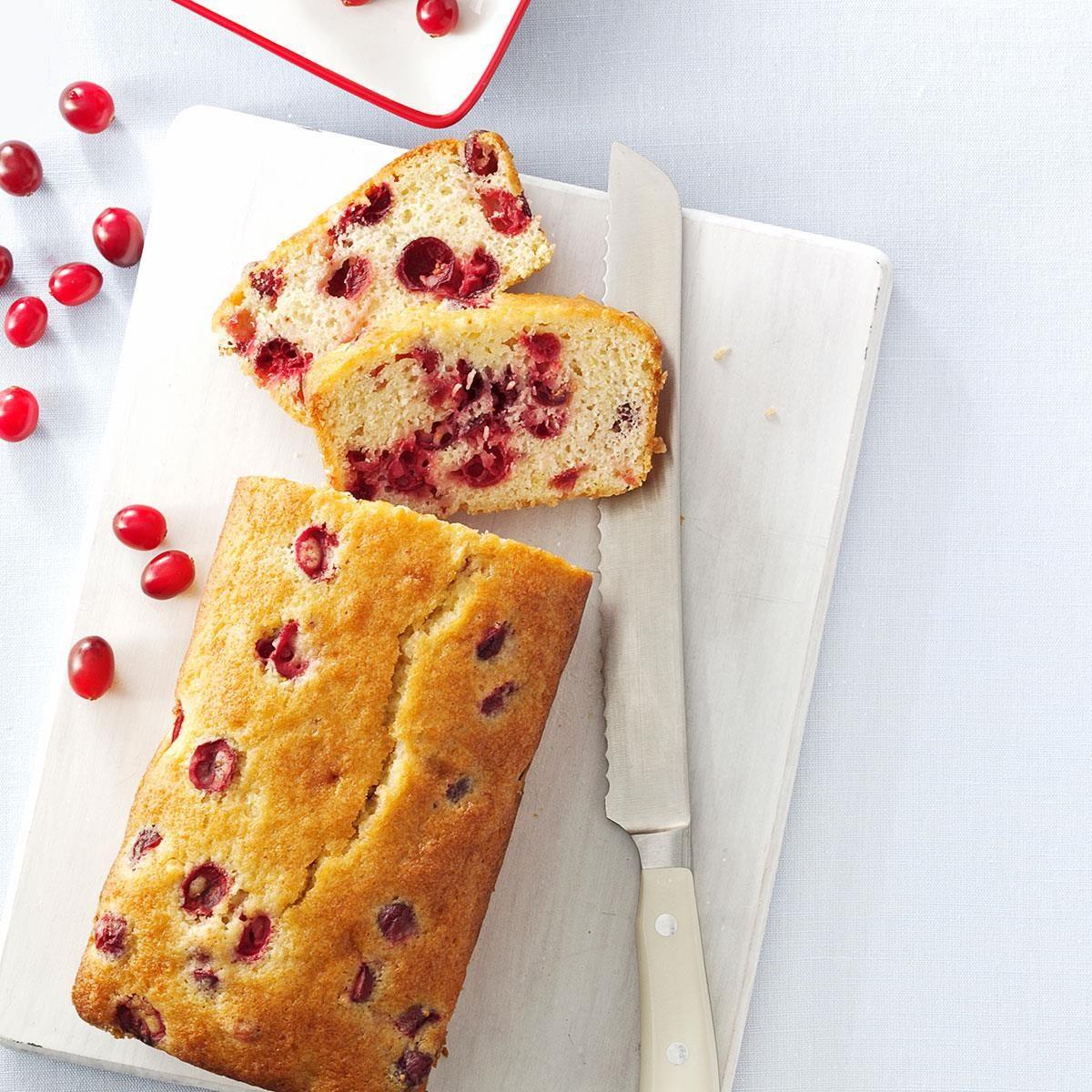 Tart Cranberry Quick Bread