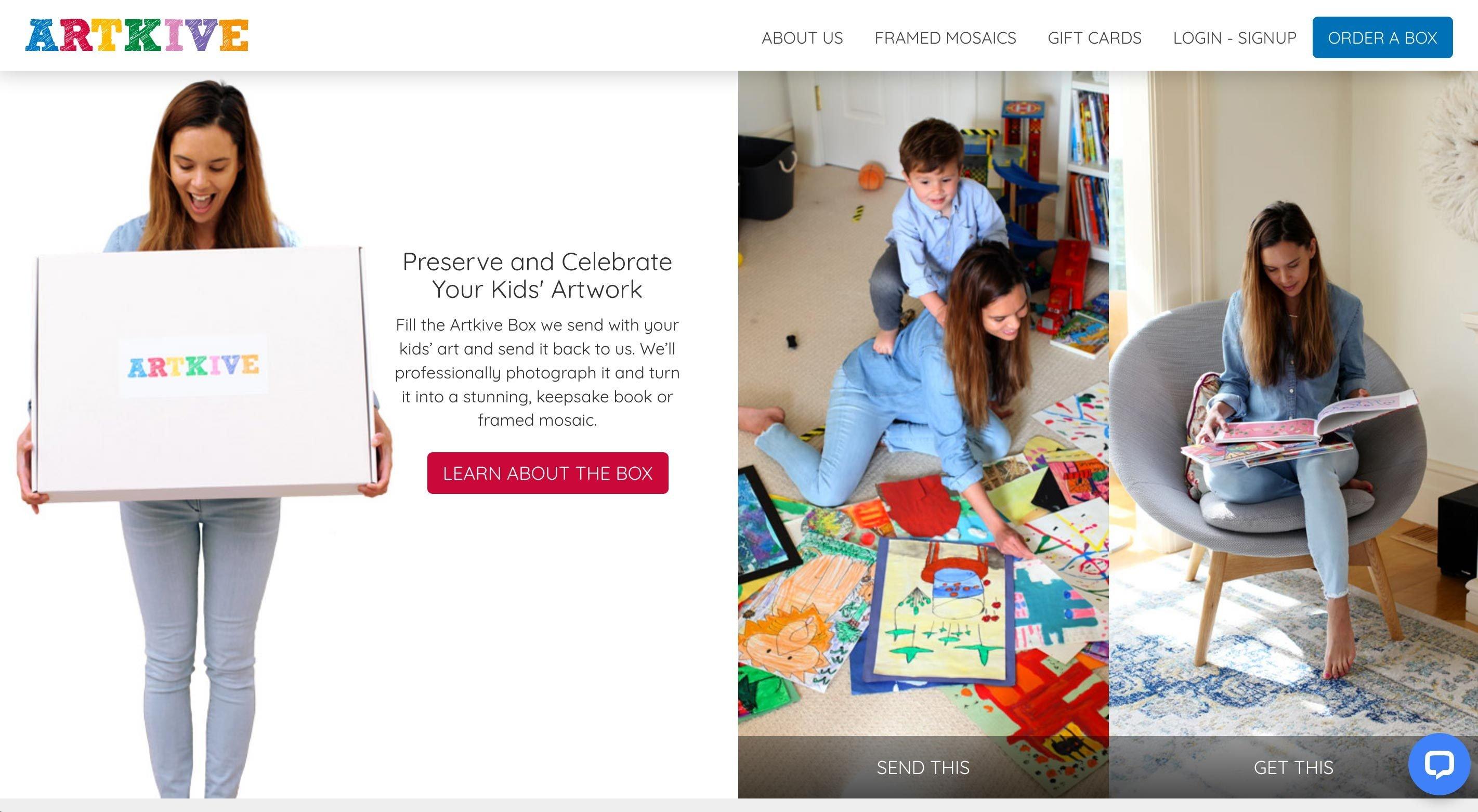 artkive homepage