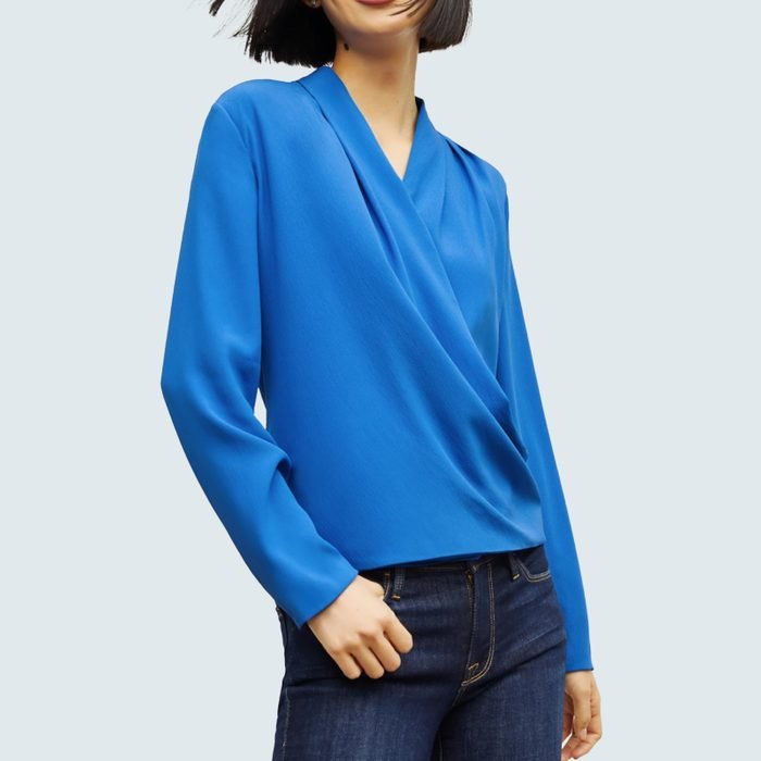 The Antoinette Top—Soft Wave
