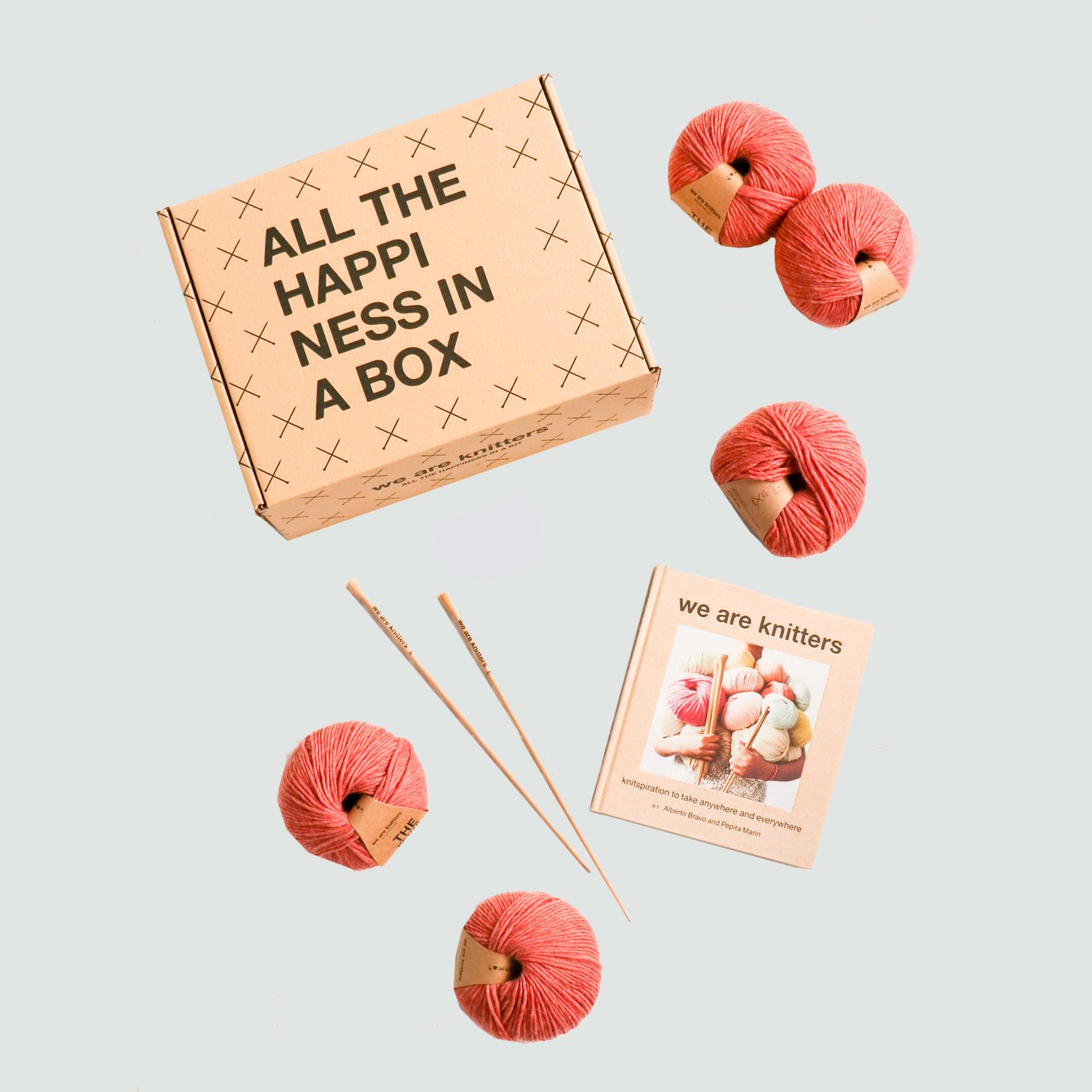 We Are Knitters WAK Book + Petite Wool Box