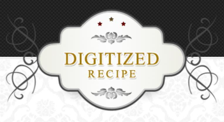digitized recipe logo