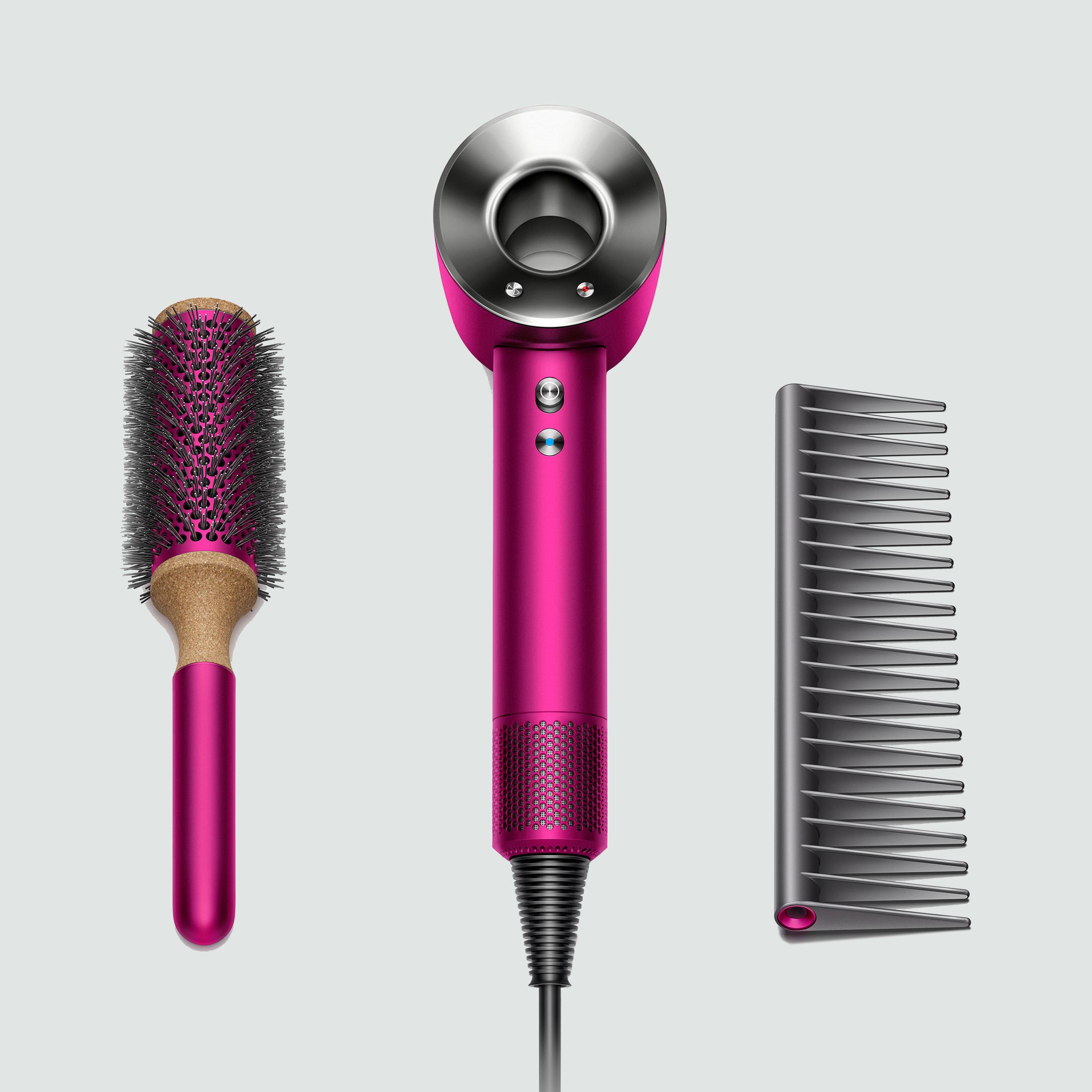 Dyson Supersonic™ Fuchsia Hair Dryer Set