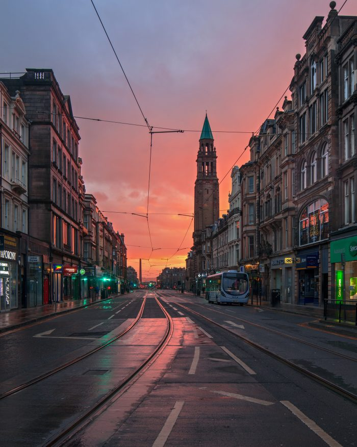 Edinburgh - Empty Shandwick Place