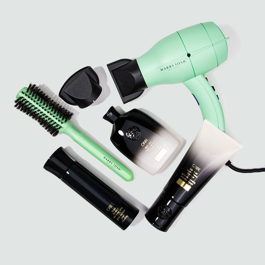 Dermstore Exclusive Oribe x Harry Josh Blowout Kit (6 piece