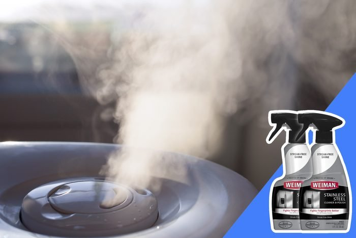 don't clean a humidifier with bleach