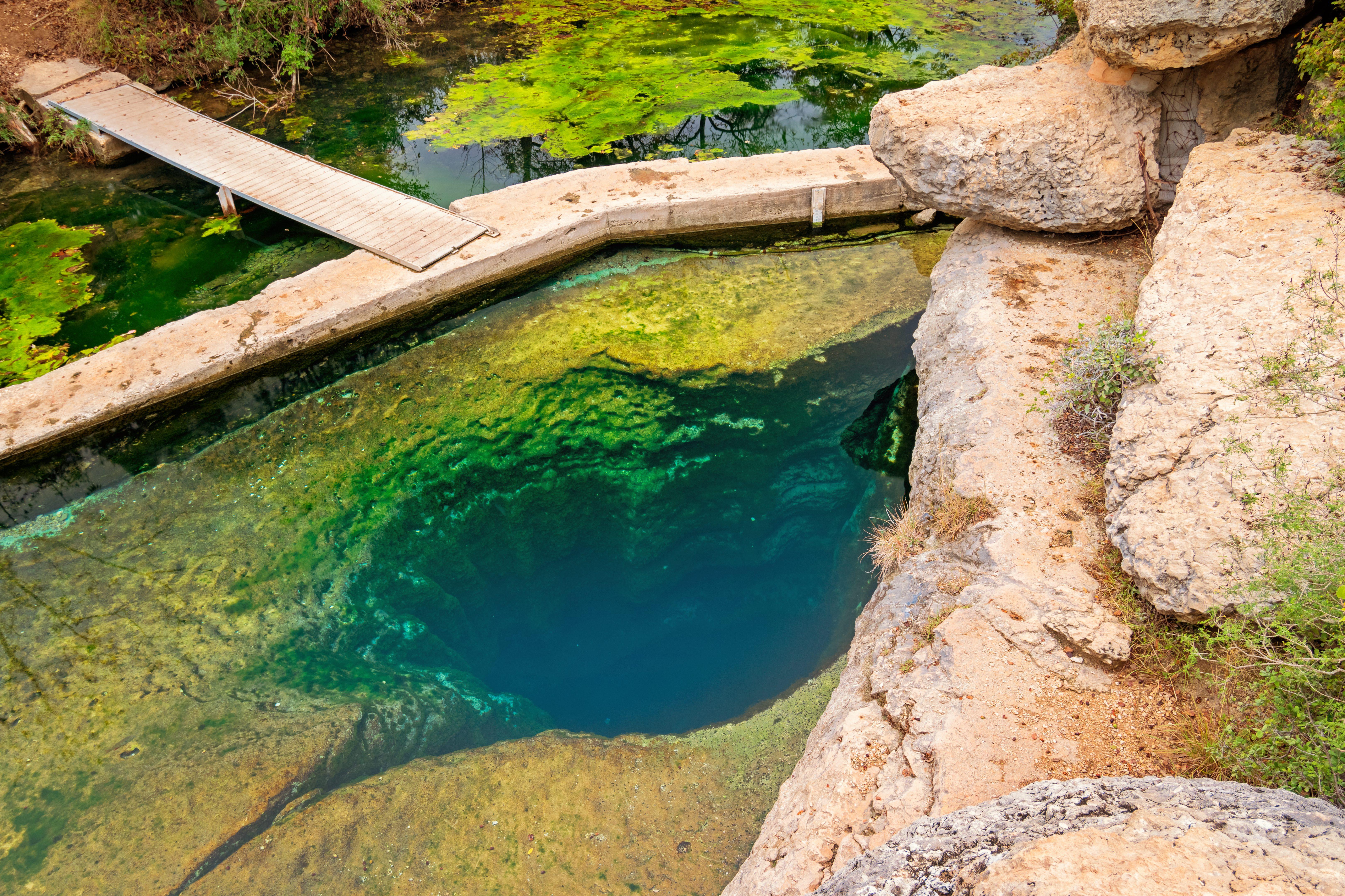 Jacob's Well near Austin Texas USA