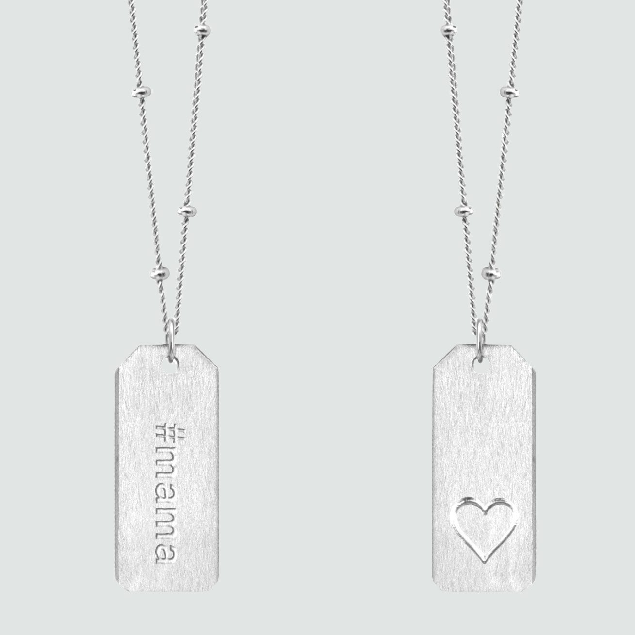 name tag necklace mothers day