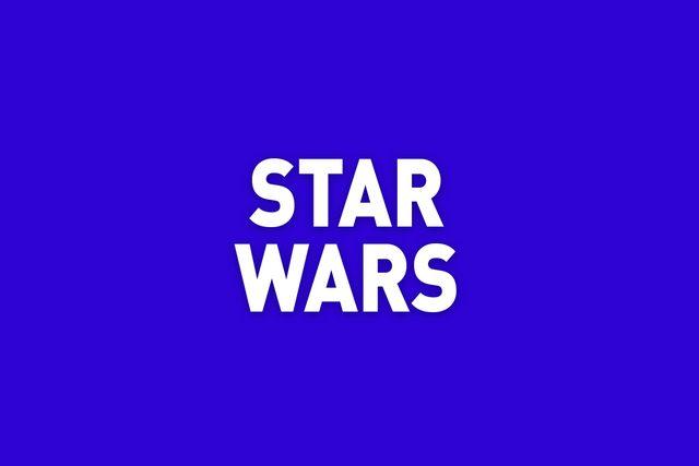 star wars jeopardy category