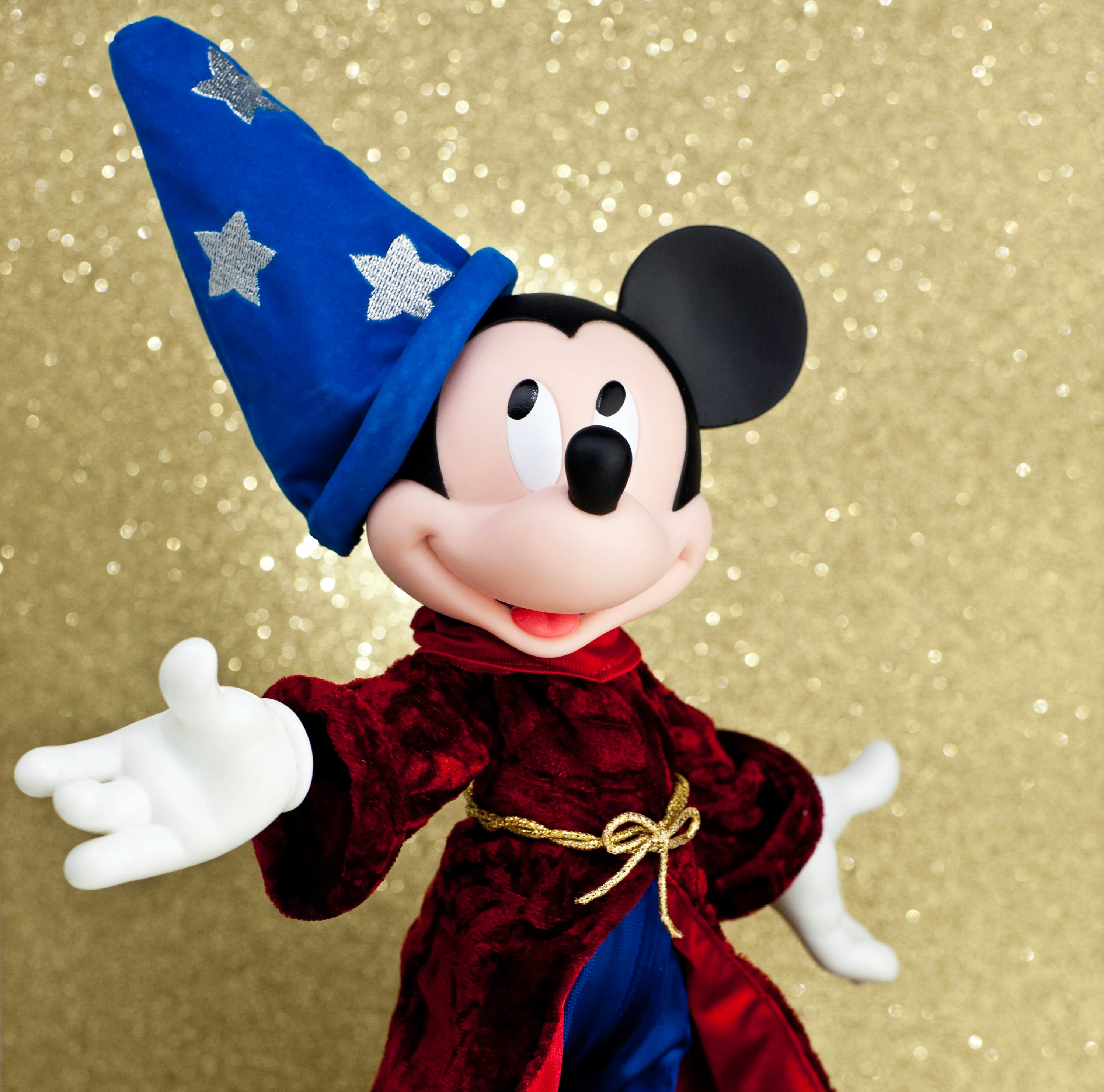 Mickey Mouse as the Sorcerer's Apprentice
