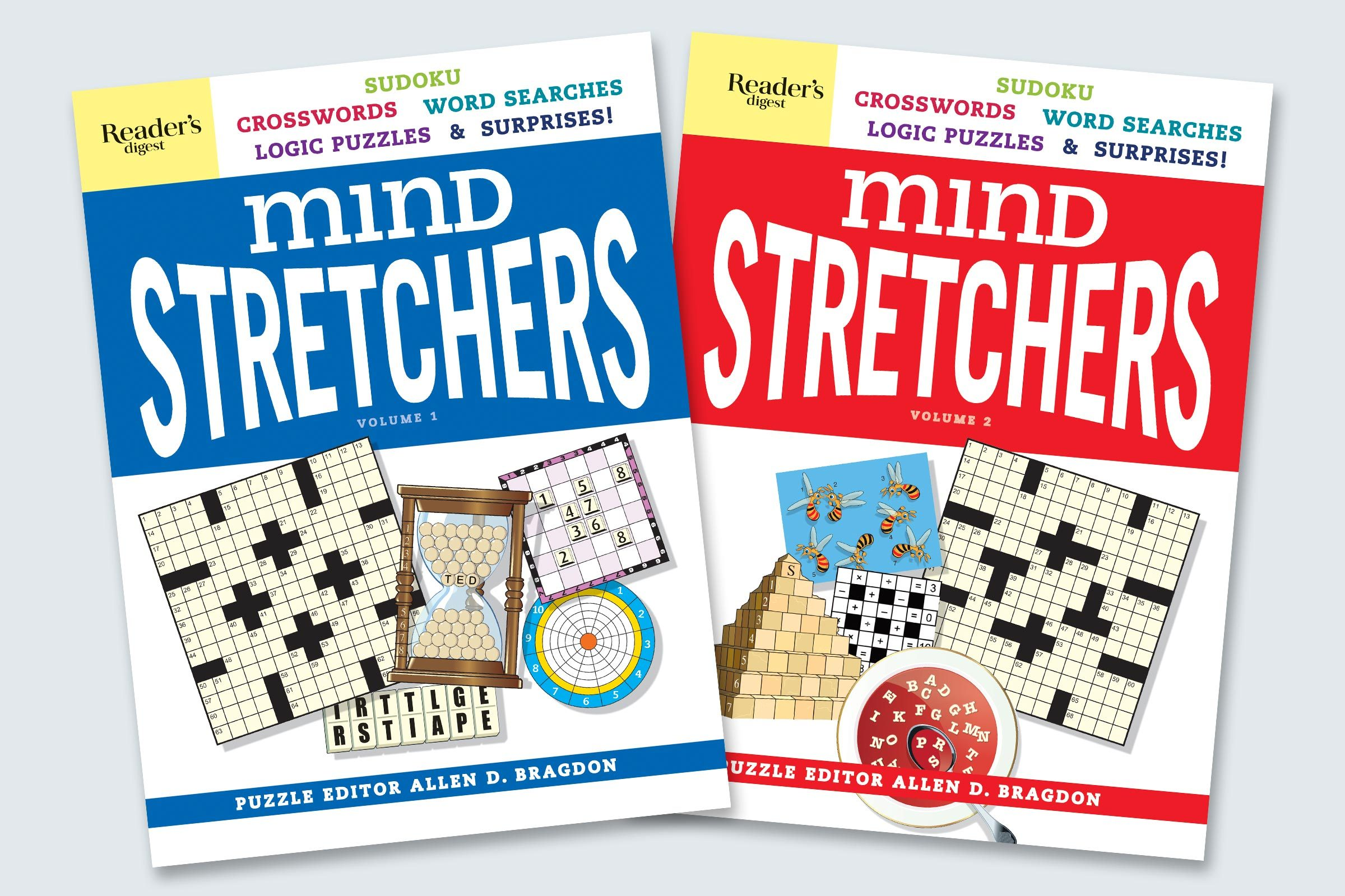 mind stretchers covers vol 1 and vol 2