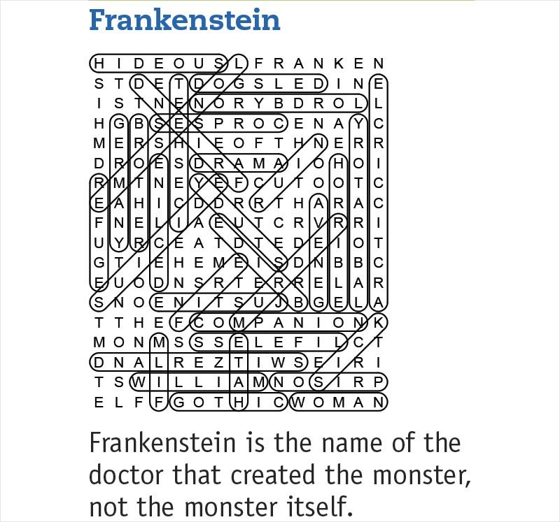 frankenstein answers