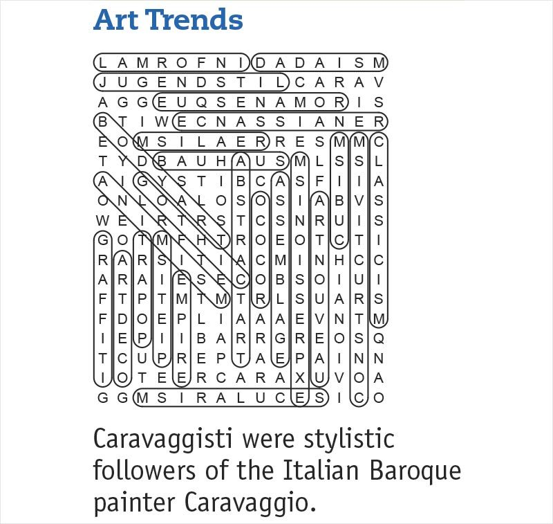 art trends answers