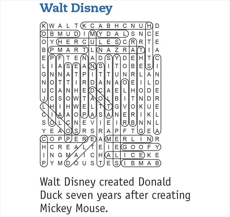 walt disney answers